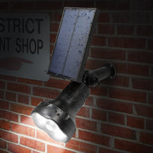 Solar Spotlight 8 LED Adjustable 3-in-1 Auto on/Off Waterproof - Farm Nevada - Gardeners Start Here