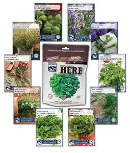Herb Seed Collection - Farm Nevada - Gardeners Start Here