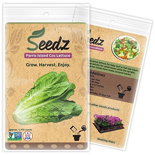 Romaine Lettuce Seeds - Farm Nevada - Gardeners Start Here