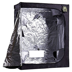 "48"" x 24"" x 60"" Grow Tent – Indoor Mylar Hydroponic Plant Growing Room - Farm Nevada - Gardeners Start Here"