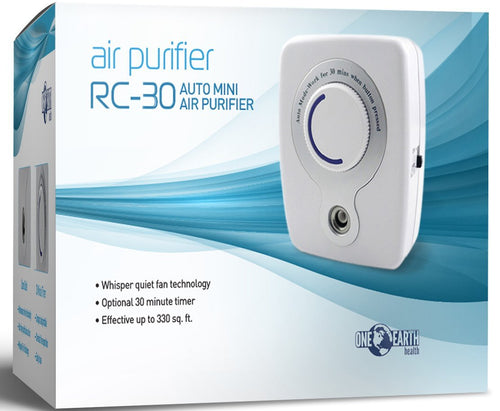 Ozone Generator Air Purifier with 30 minute timer and New Whisper Quiet Fan Technology - Farm Nevada - Gardeners Start Here