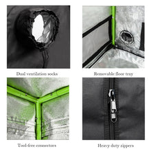 Small Indoor Mylar Hydroponics Grow Tent (See Options) - Farm Nevada - Gardeners Start Here