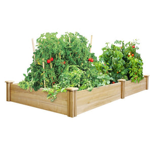 Greenes 4 Ft. X 8 Ft. X 10.5 In. Cedar Raised Garden Bed - Farm Nevada - Gardeners Start Here
