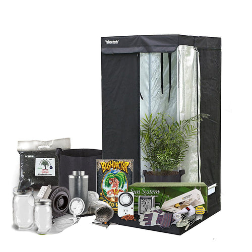 Complete Indoor Grow Kit With Fan, Soil, 24