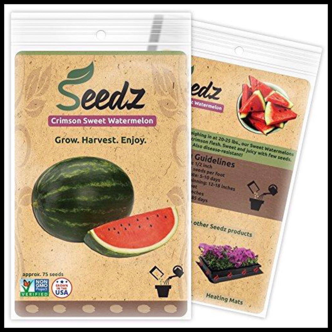 Sweet Watermelon Seeds - Farm Nevada - Gardeners Start Here