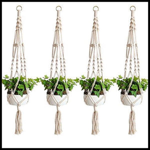Plant Hangers (Set of 4) - Farm Nevada - Gardeners Start Here