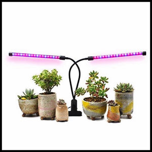 Dual Head Timing Grow Lights - Farm Nevada - Gardeners Start Here