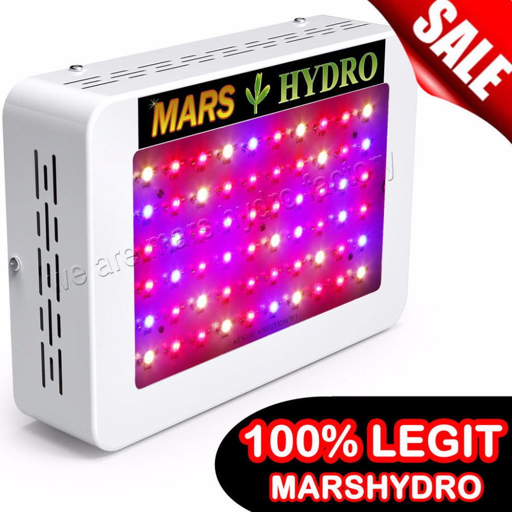 Mars Hydro Mars 300 /Mars600 LED Grow Light Full Spectrum for Hydroponic Planting Local free shipping - Farm Nevada - Gardeners Start Here