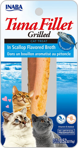 Grilled Tuna Fillet in Scallop Flavored Broth (Single Pack Only)