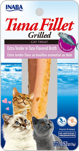 Grilled Tuna Fillet Extra Tender in Tuna Flavored Broth (Single Pack Only)