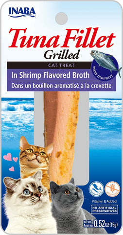 Grilled Tuna Fillet in Shrimp Flavored Broth (Single Pack Only)