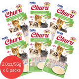 Churu Chicken with Scallop Flavor 6 pack/4 tubes