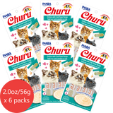 Churu Chicken with Crab Flavor 6 pack/4 tubes
