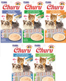 INABA Churu 5 Flavor Variety Pack of 20 Tubes