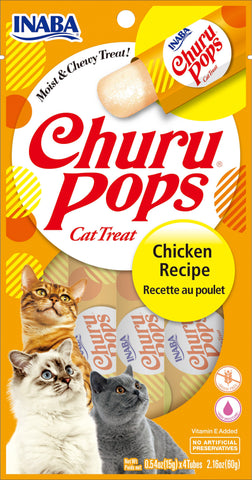 Churu Pops Chicken 4 Tubes (Single Pack Only)