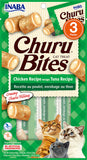 Churu Bites Chicken Recipe wraps Tuna Recipe (Contains 6 packs)