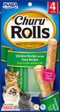 Churu Rolls Chicken Recipe wraps Tuna Recipe (Contains 6 packs)