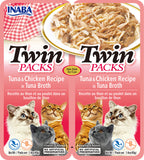 Twin Packs Tuna & Chicken Recipe in Tuna Broth (Single Pack Only)