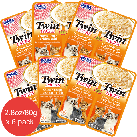 Twin Packs Chicken Recipe in Chicken Broth (Contains 6 packs)