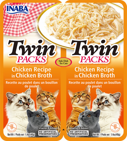 Twin Packs Chicken Recipe in Chicken Broth (Single Pack Only)