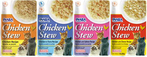 Chicken Stew Variety 4 Pack (Contains 1 pack of each flavor)