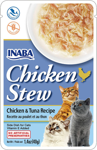 Chicken Stew Chicken & Tuna Recipe (Single Pack Only)