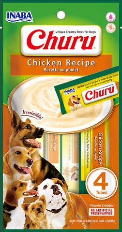 Dog Churu - Chicken (1 Pack / 4 Tubes)