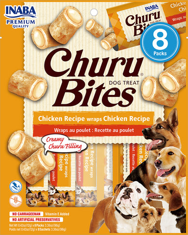 Dog Churu Bites - Chicken (1 Pack / 8 Packs)
