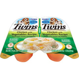 Dog Twin Cups Chicken with Vegetables Recipe (Contains 6 packs)