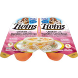 Dog Twin Cups Chicken with Vegetables & Salmon Recipe (Single Pack Only)