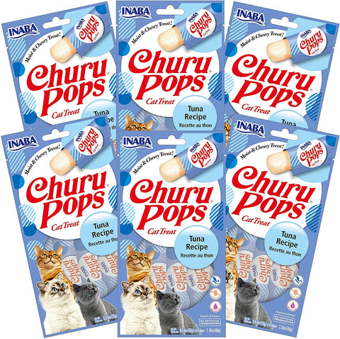 Churu Pops Tuna 6 pack/4 tubes