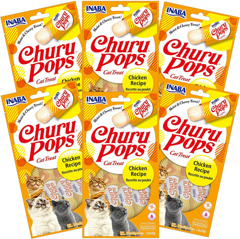 Churu Pops Chicken 6 pack/4 tubes