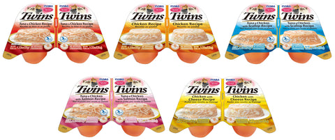 Twin Cups Variety 5 Pack (Contains 1 pack of each flavor)