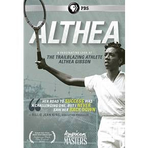 """Althea"" Documentary DVD - 83 mins."
