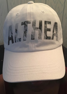 Althea 60th Anniversary Curved Bill Adjustable Cap
