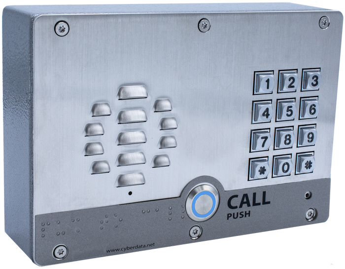 011214 SIP Outdoor Intercom with Keypad