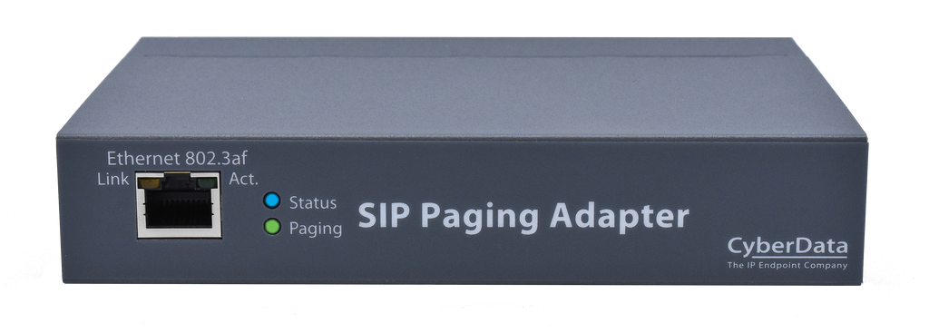 011233 SIP Paging Adapter