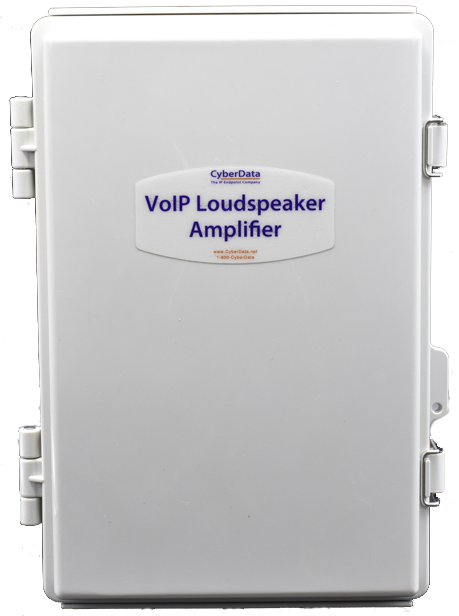011407  InformaCast Enabled Loudspeaker Amplifier-PoE