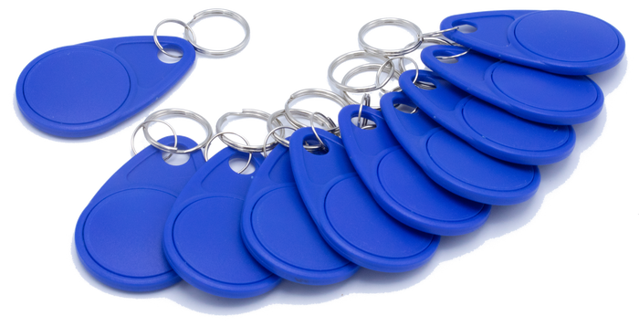 011432 Key Fobs - Packet of 10 (Use with 011425, 011426)