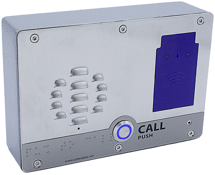 011477 SIP Outdoor Intercom with RFID