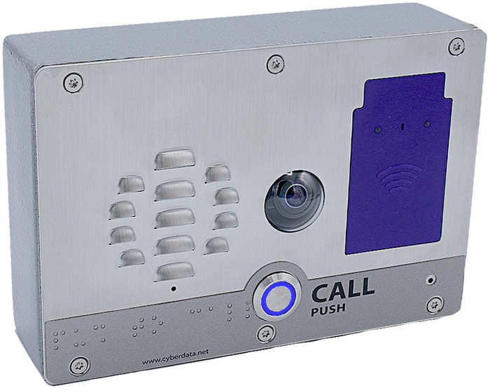 011478 SIP h.264 Video Outdoor Intercom with RFID