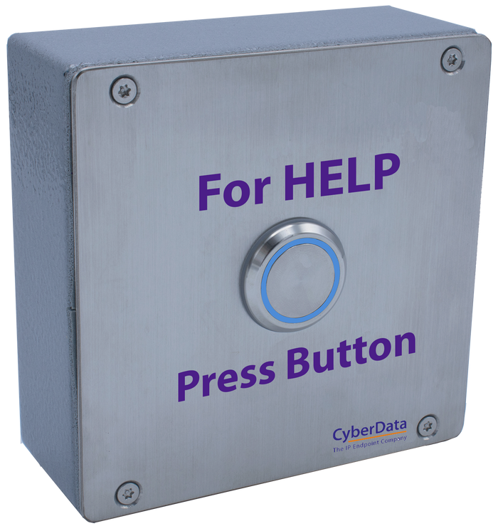 **NEW RELEASE** 011491 SIP Outdoor Call Button