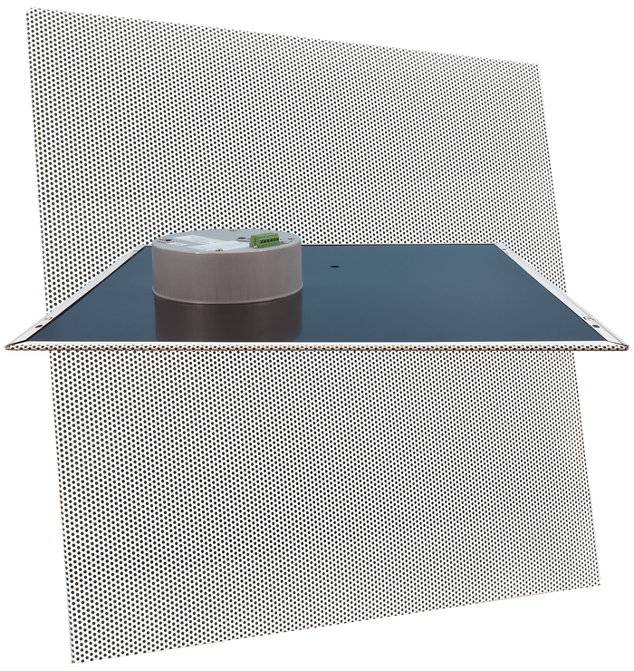 ** NEW RELEASE ** 011521 InformaCast® Enabled 2 x 2 Ceiling Tile Drop-In Speaker