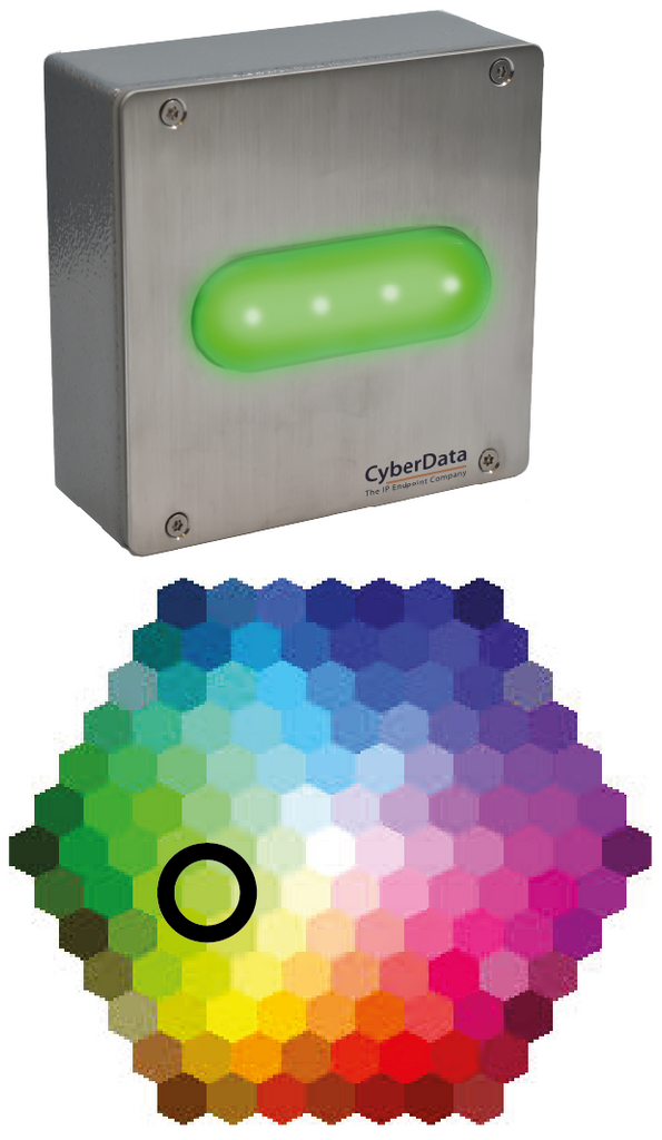 **NEW RELEASE** 011479 SIP Outdoor RGB (Multi-Color) Strobe