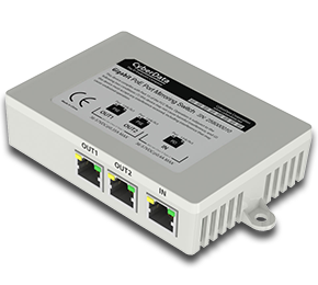 2-Port PoE Gigabit Port Mirroring Switch
