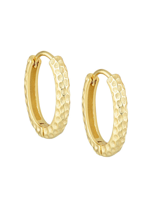 BELLFLOWER HOOPS GOLD