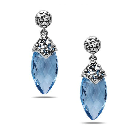 Aspen Blue Topaz Earrings