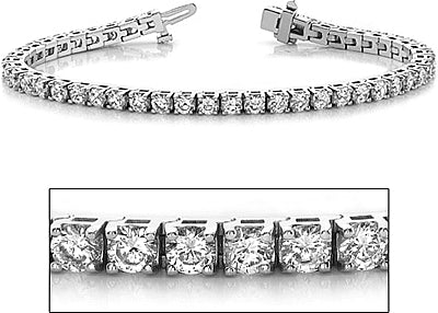 White Gold 1.00ctw Diamond Tennis Bracelet