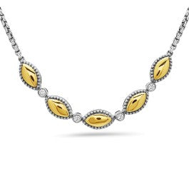 Firefly Two Tone Necklace