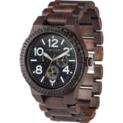 WeWood Kardo Indian Rosewood Watch | Chocolate/White